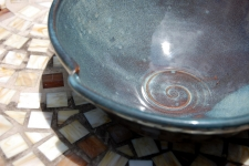 Serving Bowl or Mixing Bowl in Slate Blue
