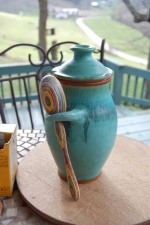 Kitchen Canister in Turquoise