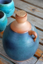 Corked Whiskey Jug