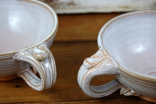 Cappuccino Cup or Soup Mug In Shale